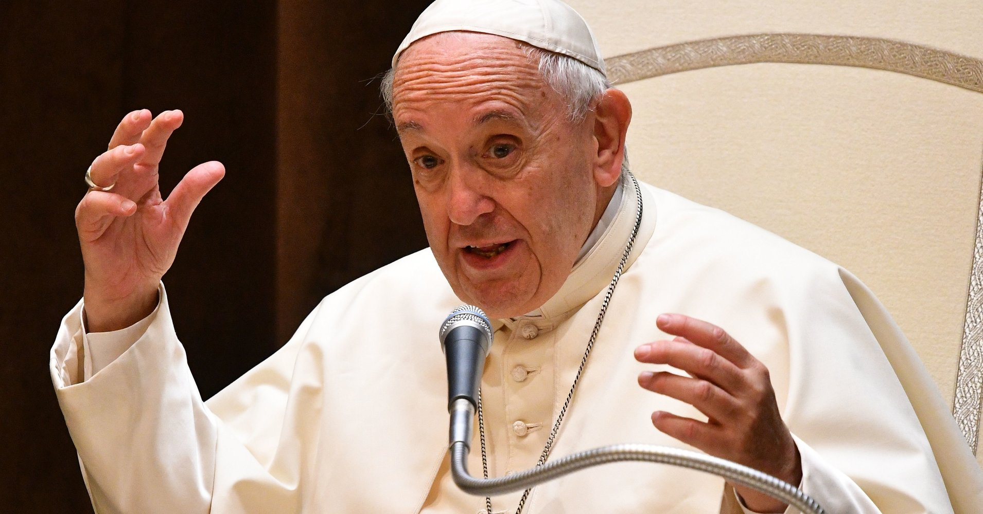 Pope Francis Warns Oil Executives That Fossil Fuels Threaten Humanity